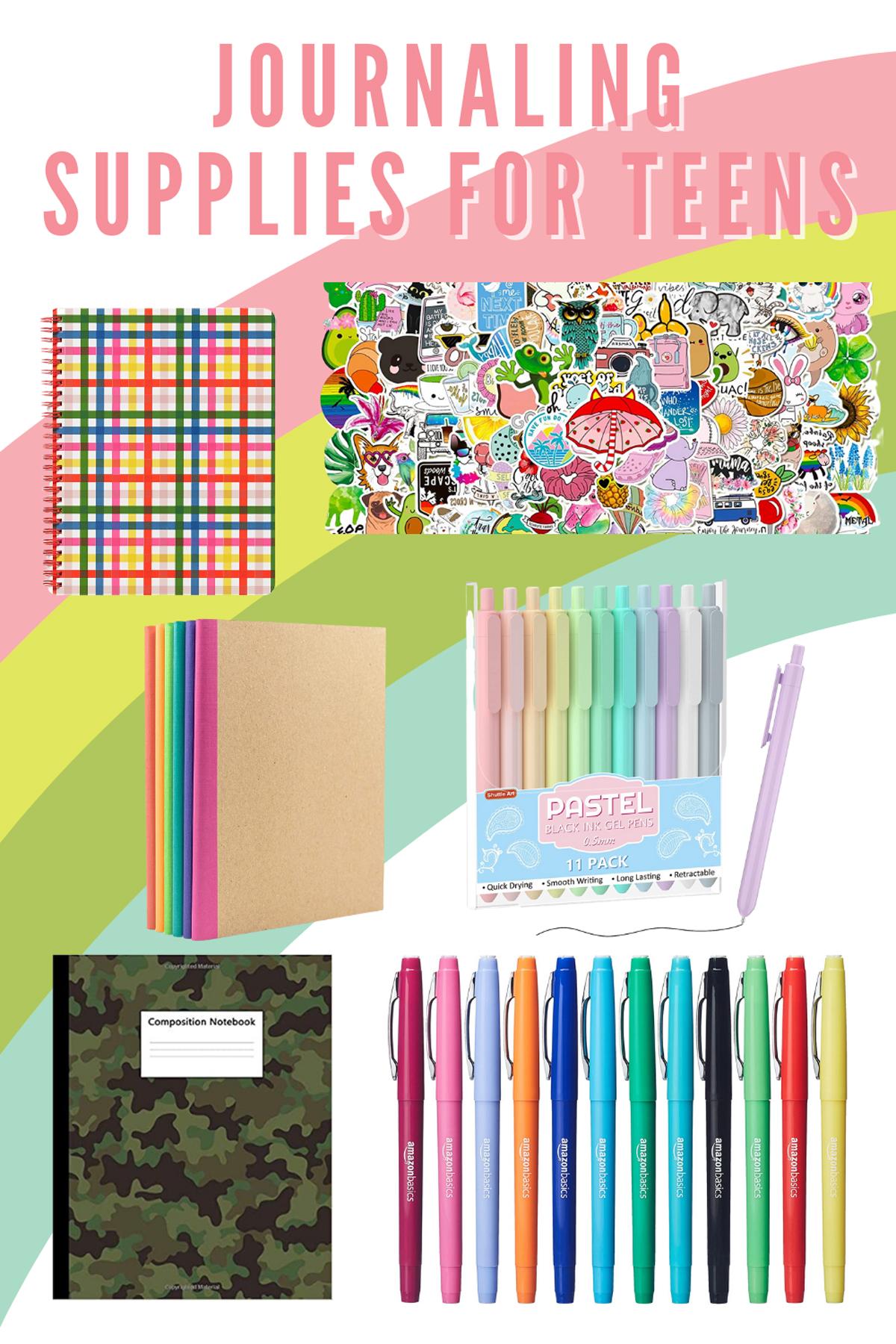 Fun Journaling Supplies for Teens Writing