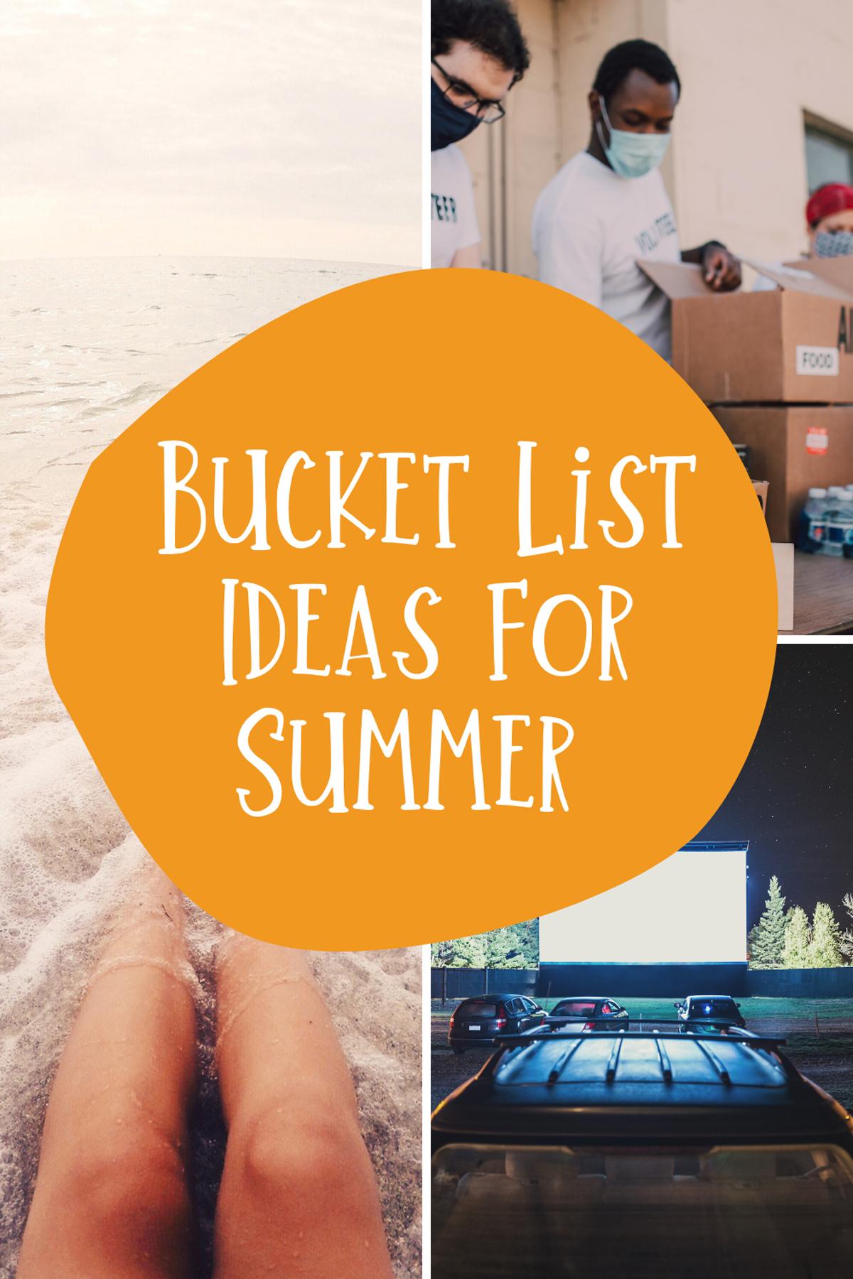 Summer Goals List Teenagers