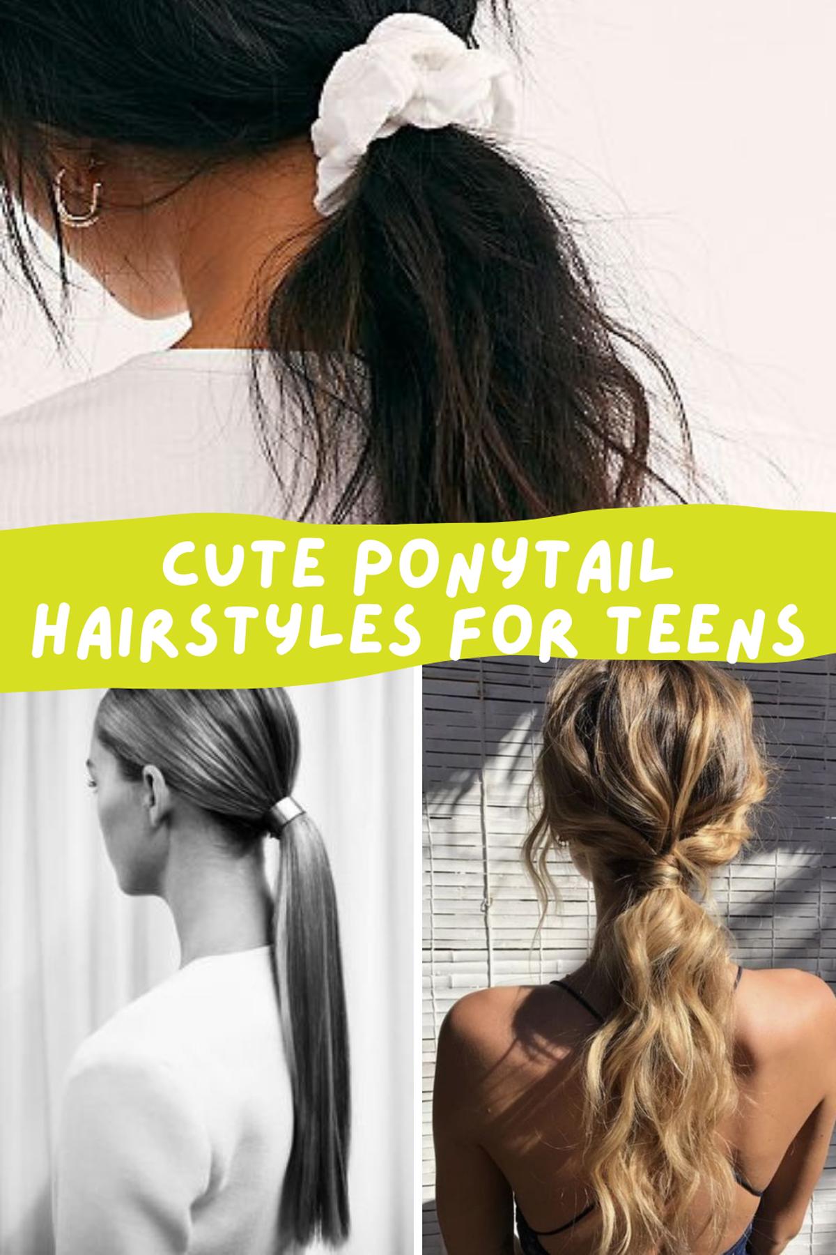Easy Cute Hairstyles For Teenage Girls
