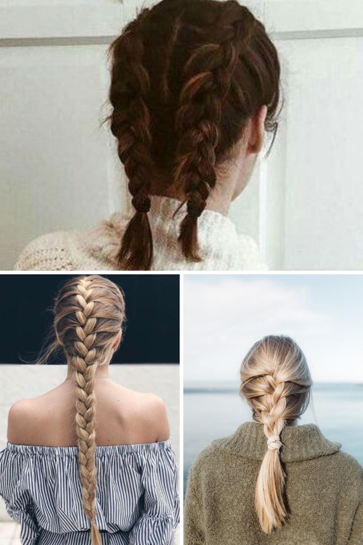 Teenage Hairstyles For School Braided
