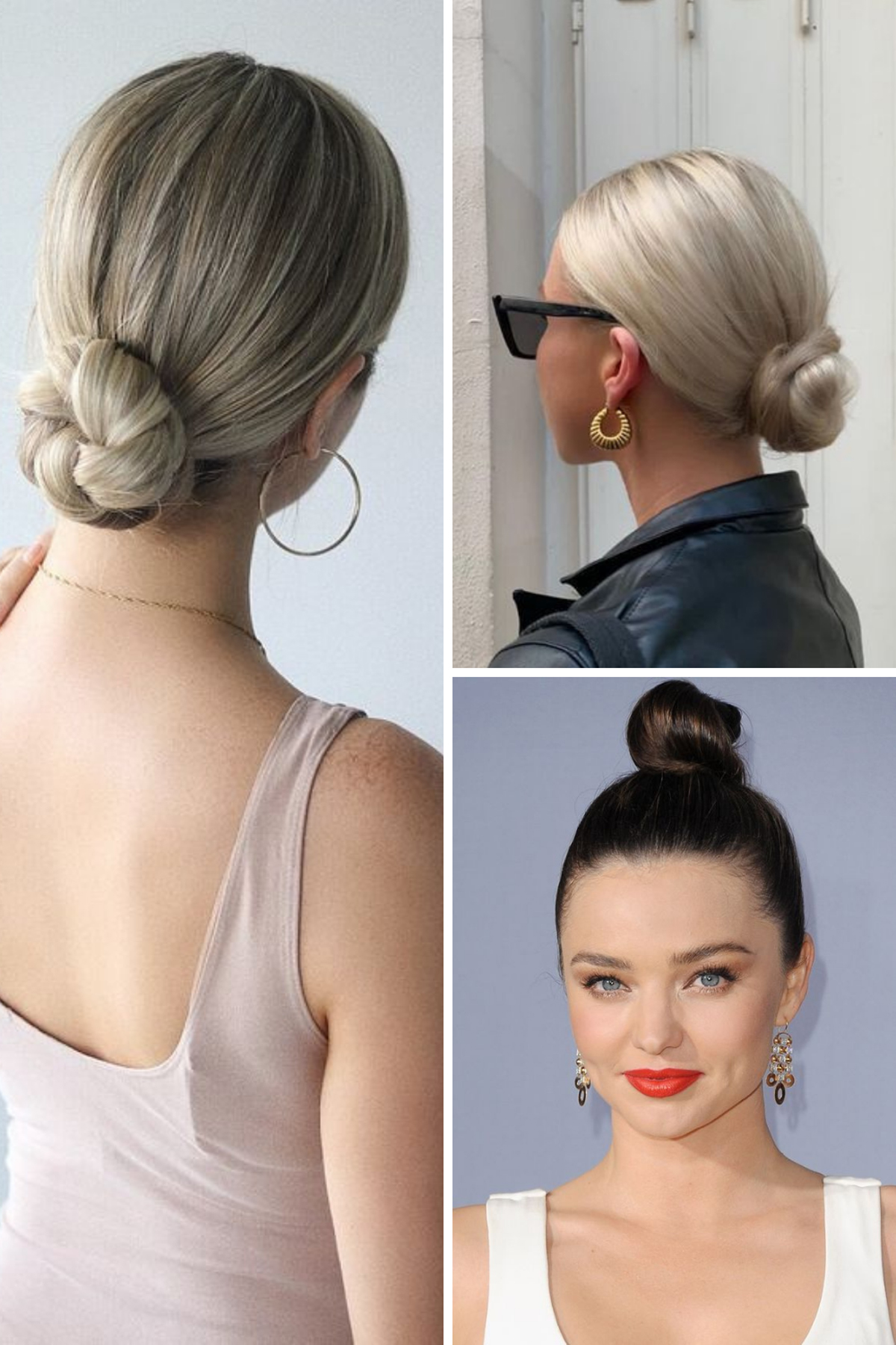 Cute Bun Hairstyles for Teens
