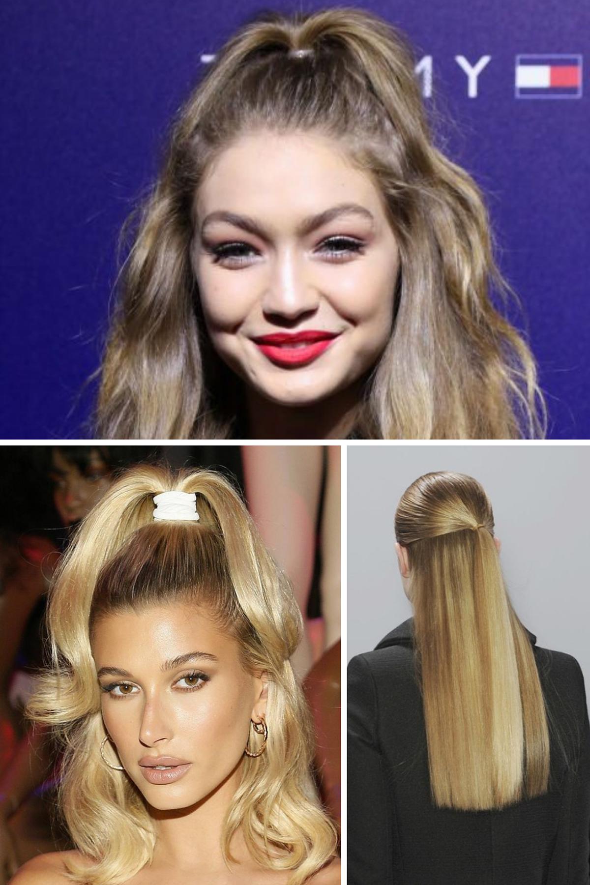 Half Up Teenage Hairstyles