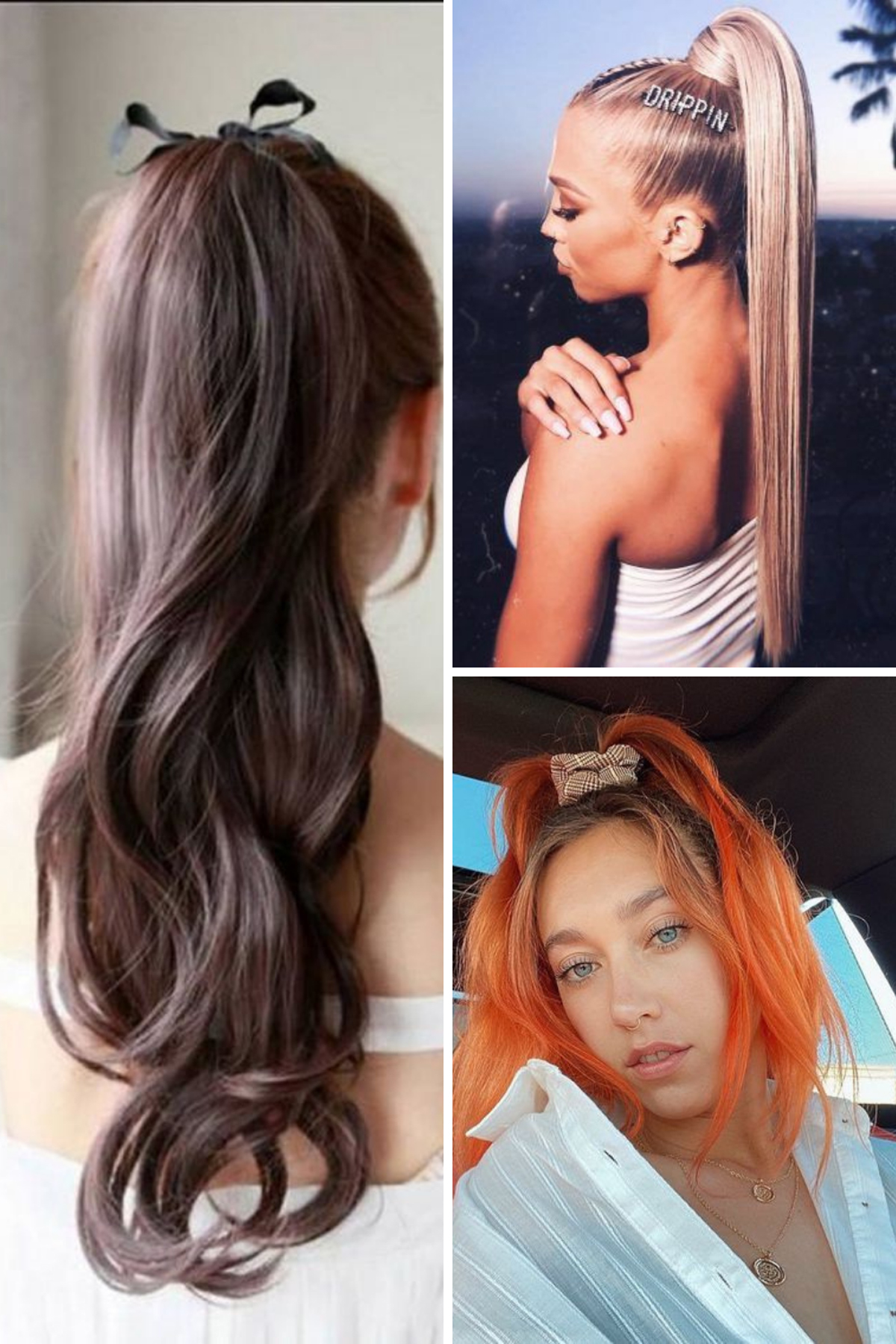 Cute Ponytail Hairstyles For Teens