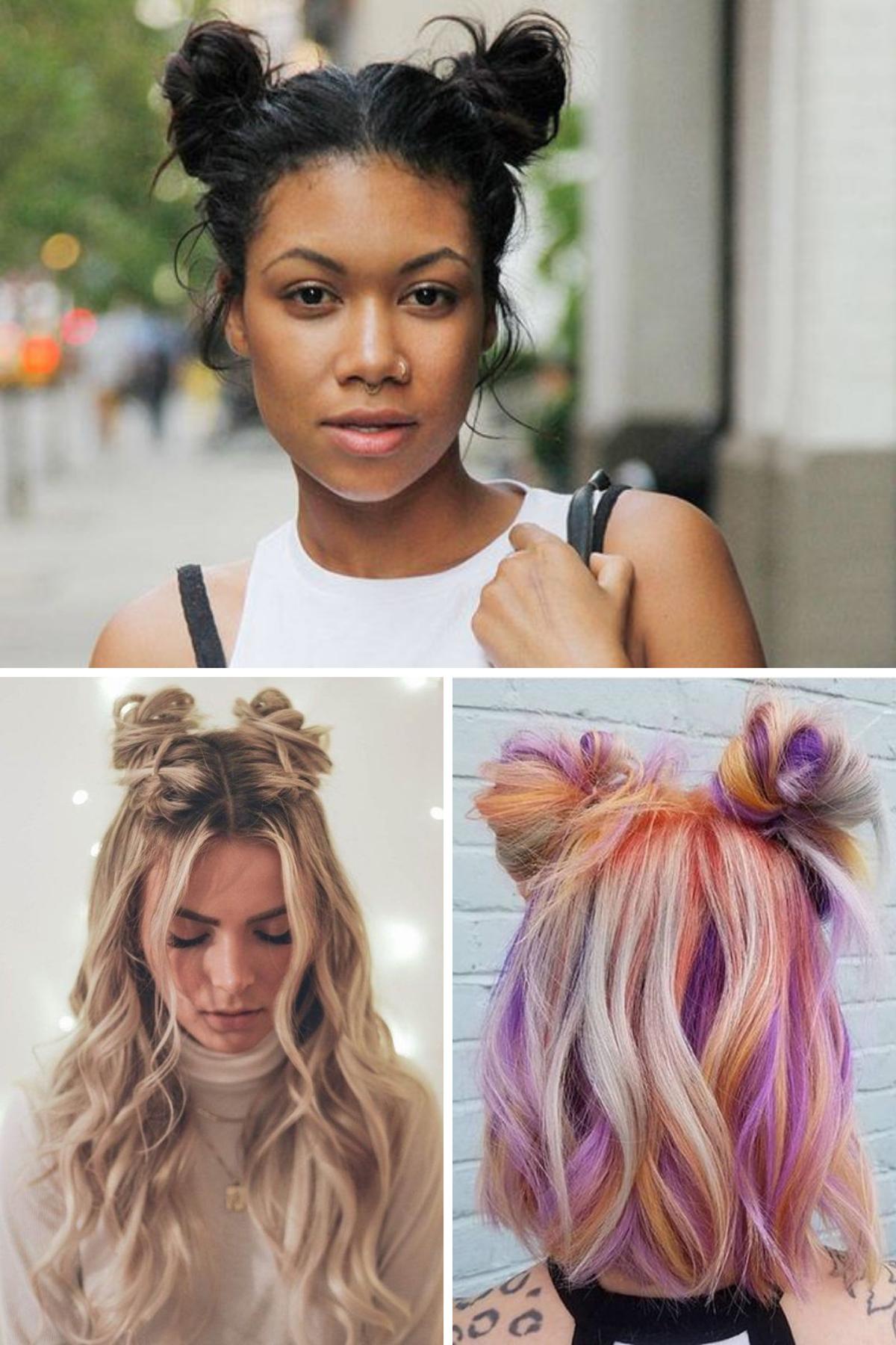 Cute Hairstyles for Teens Spacebuns