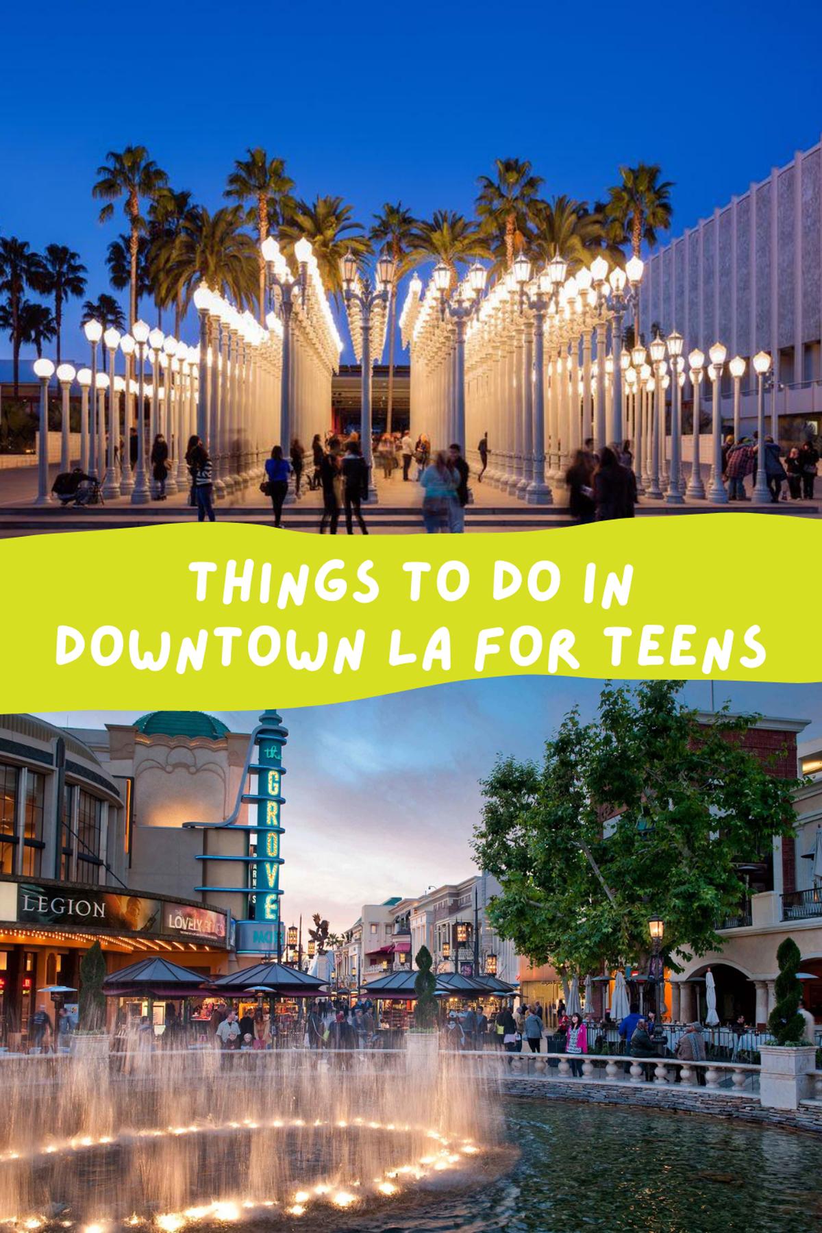 Fun Teen Activities in Southern California