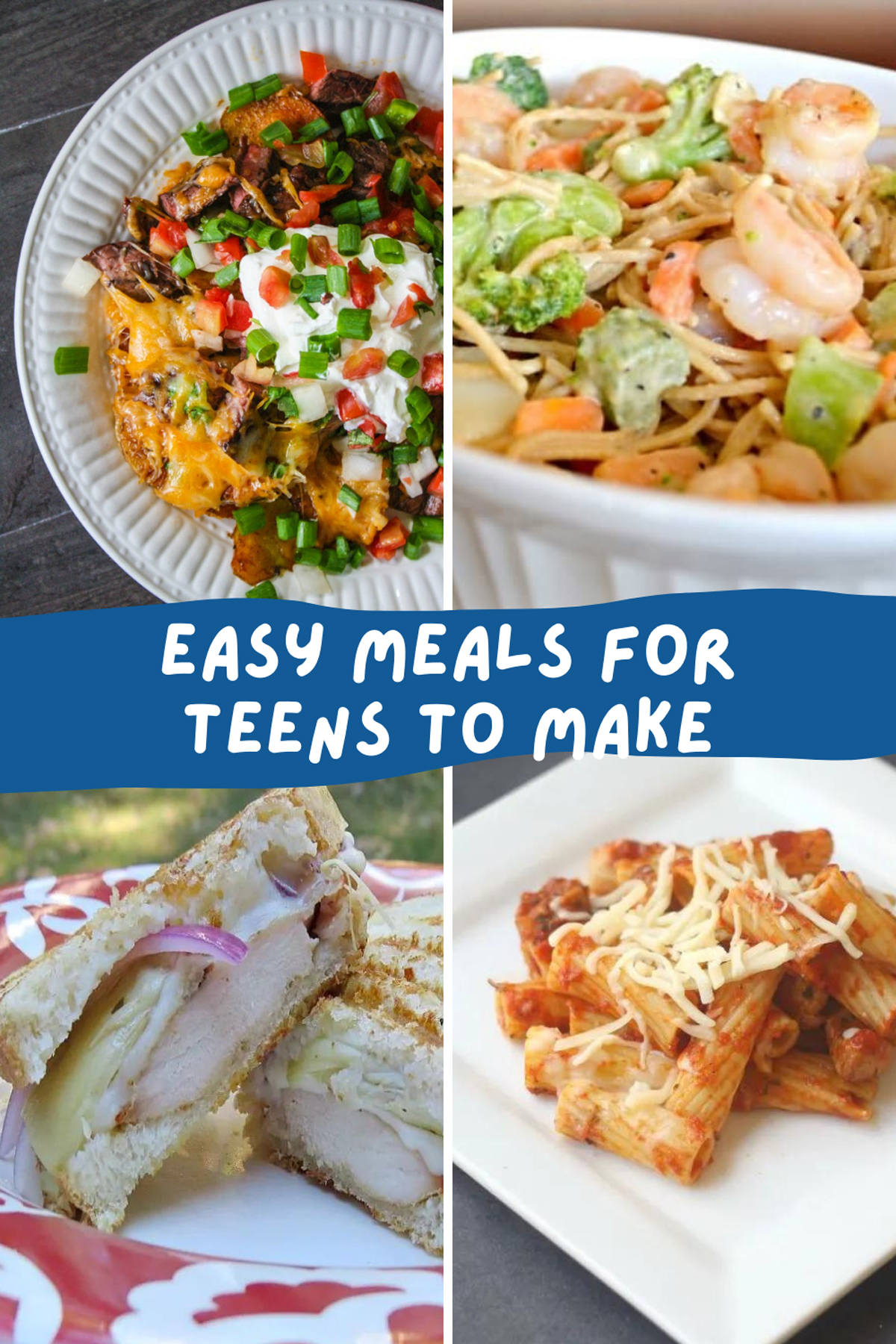 Easy Meals for Teens to Make
