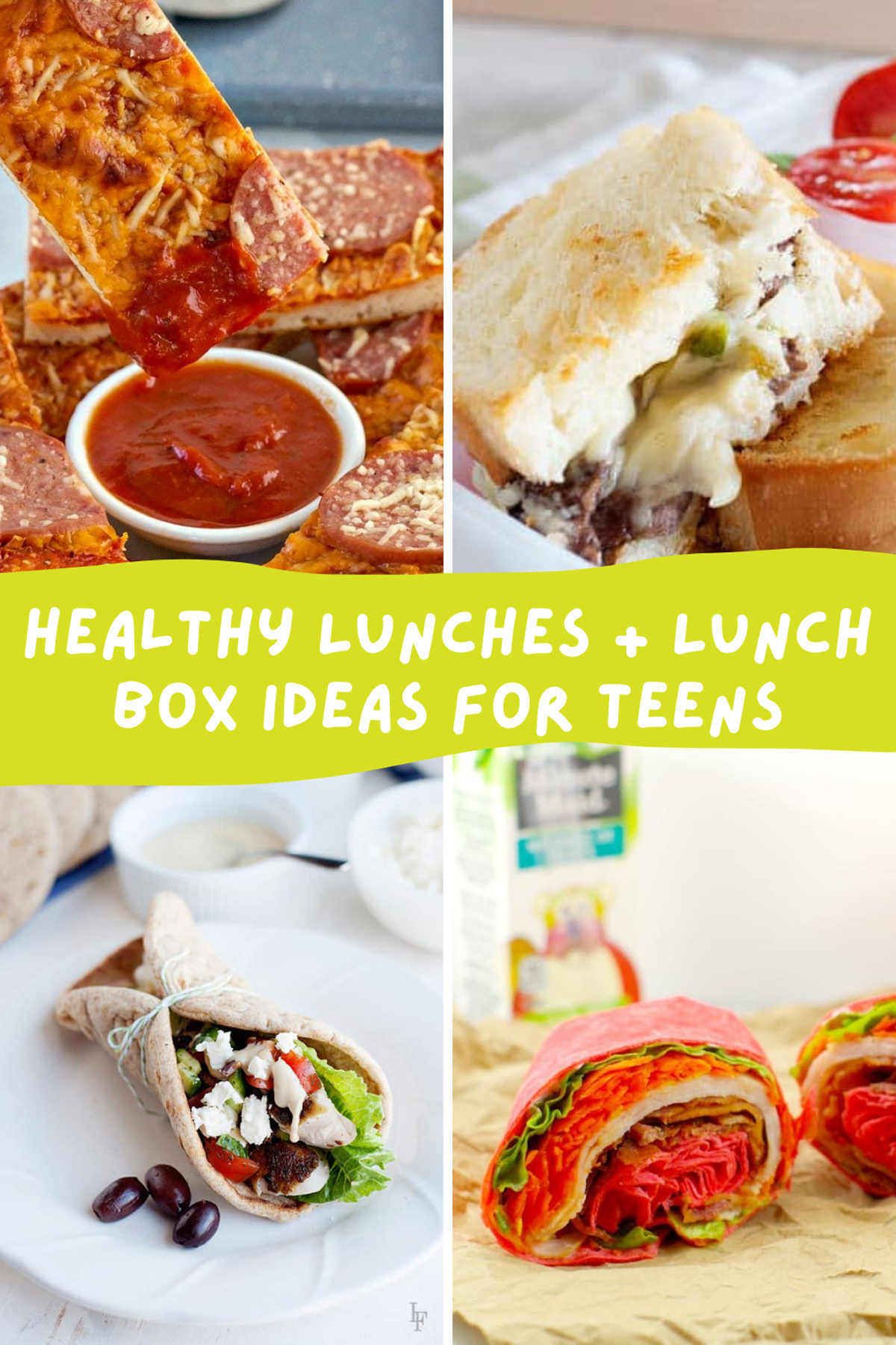 Healthy lunch Ideas for Teenagers