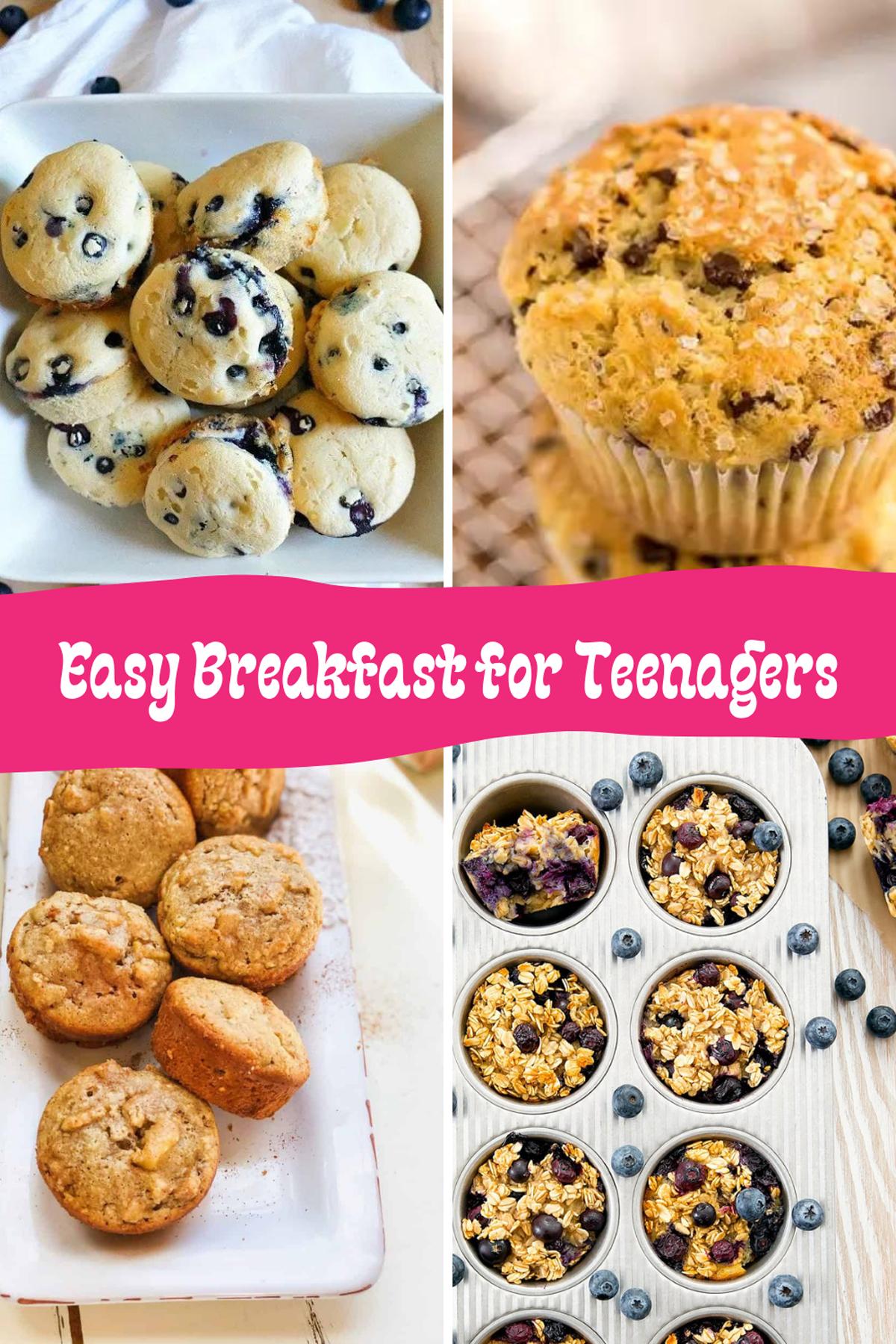 Easy Breakfast Ideas for Teens
