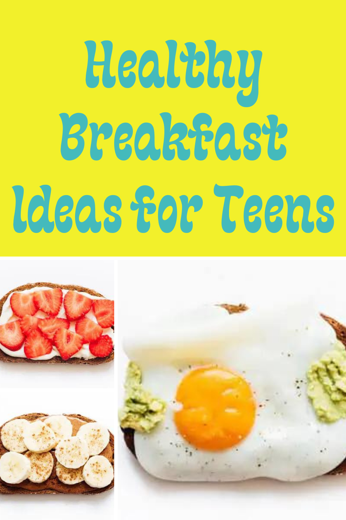 Morning Recipes Teenagers Will Eat