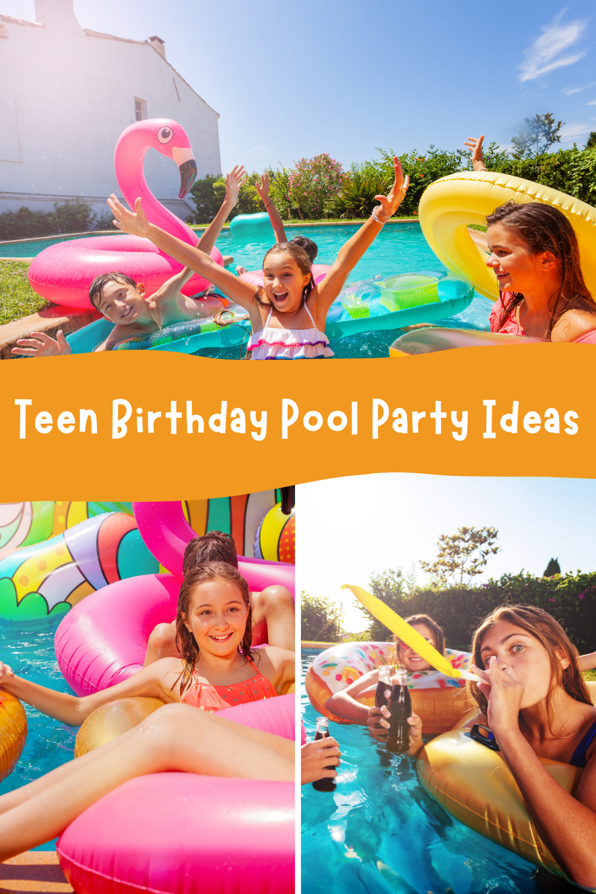 Teen Birthday Pool Party Ideas