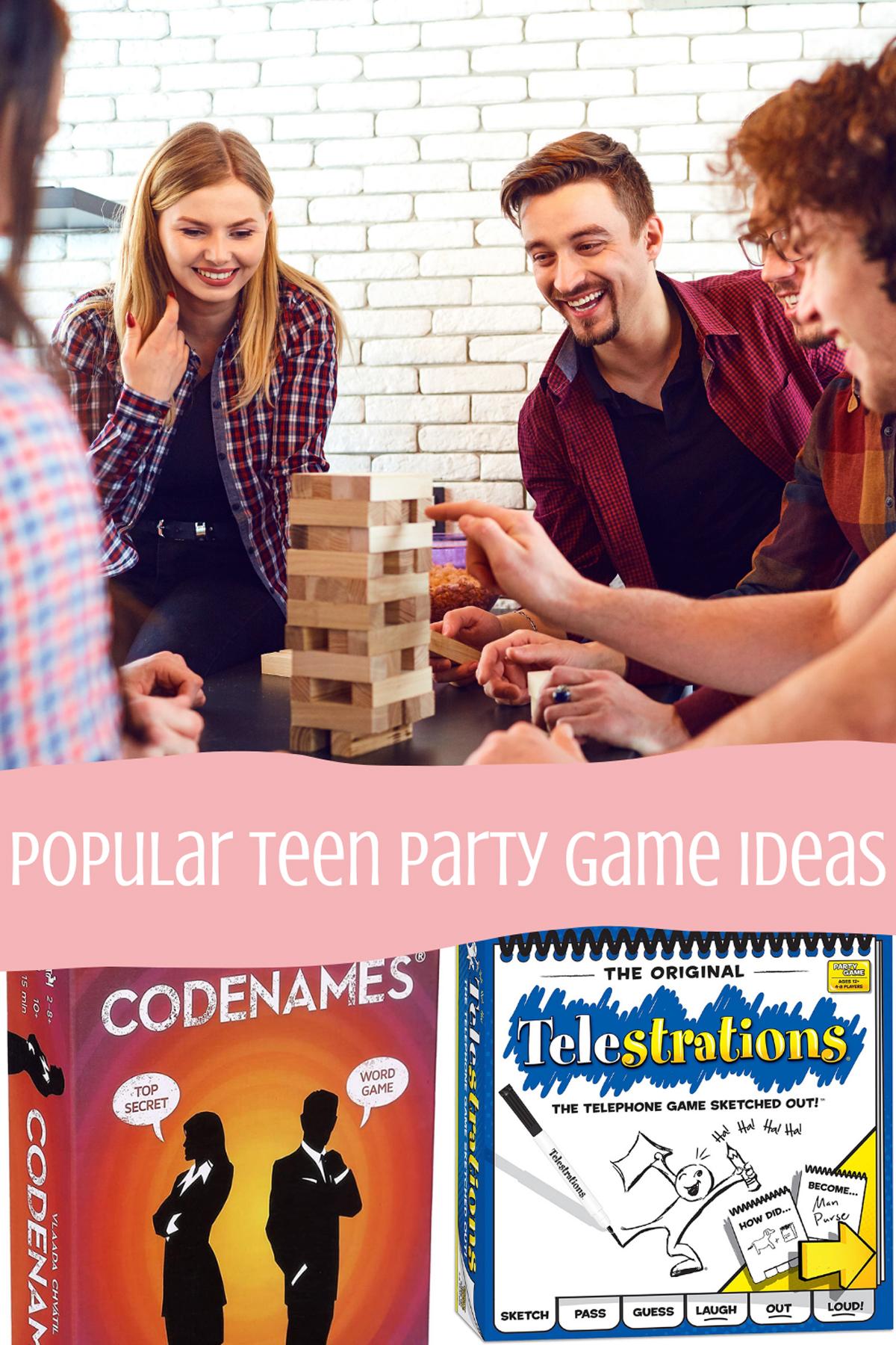 Popular Teen Party Games
