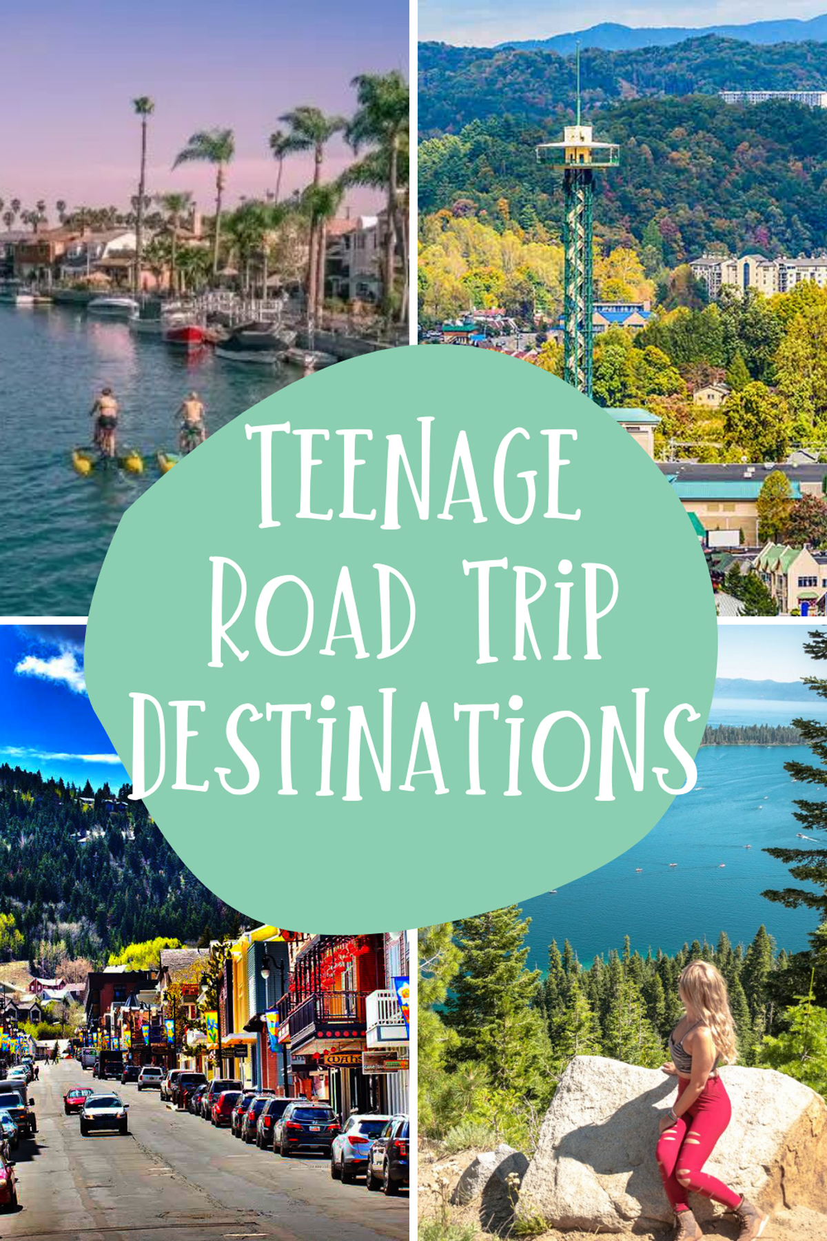 Teenage Vacation Destinations Drive To