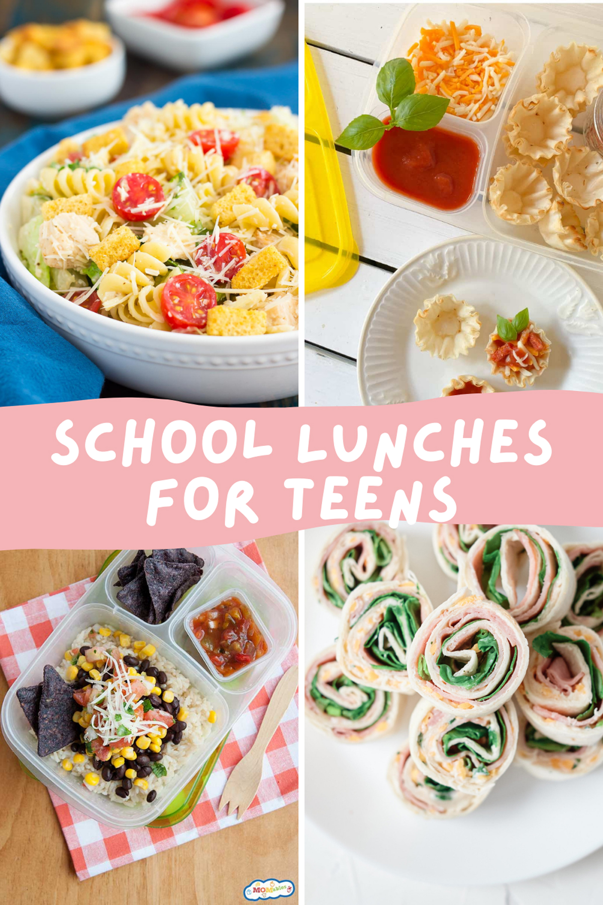 School Lunches for Teens