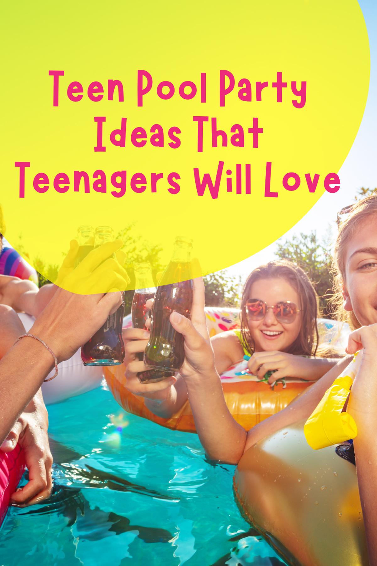 13th Birthday Pool Party Ideas
