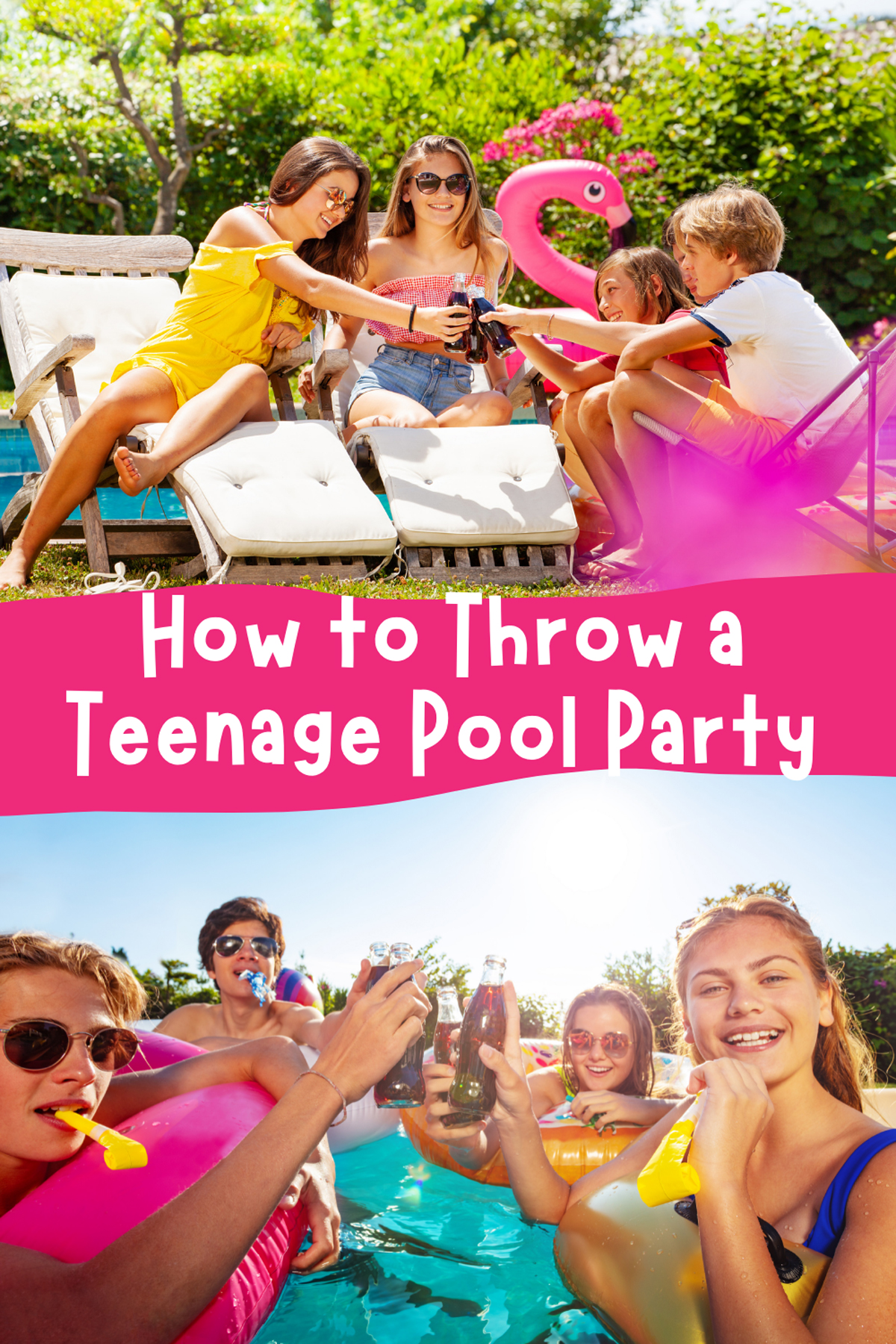 How to Throw a Teenage Pool Party
