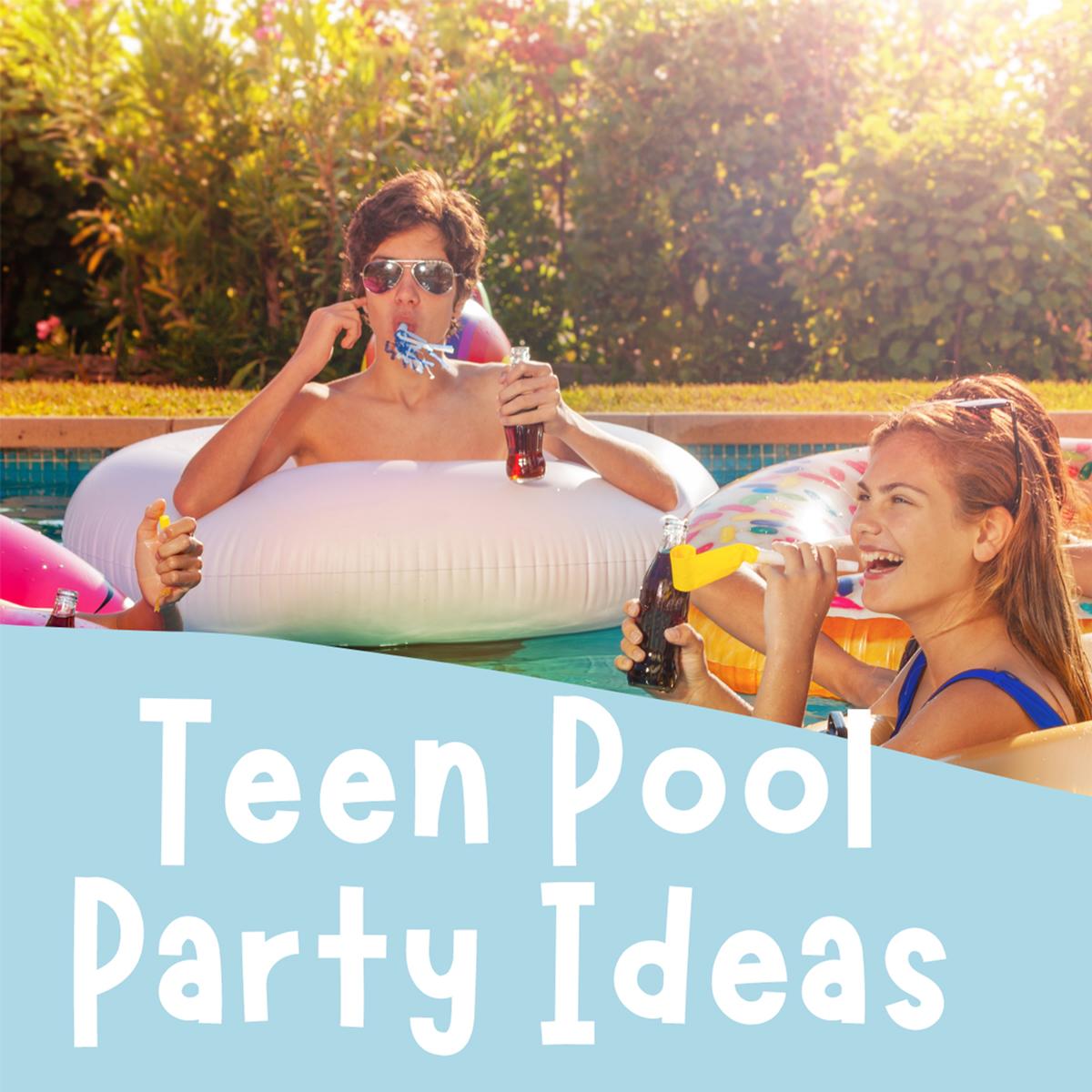Genius Teen Pool Party Ideas