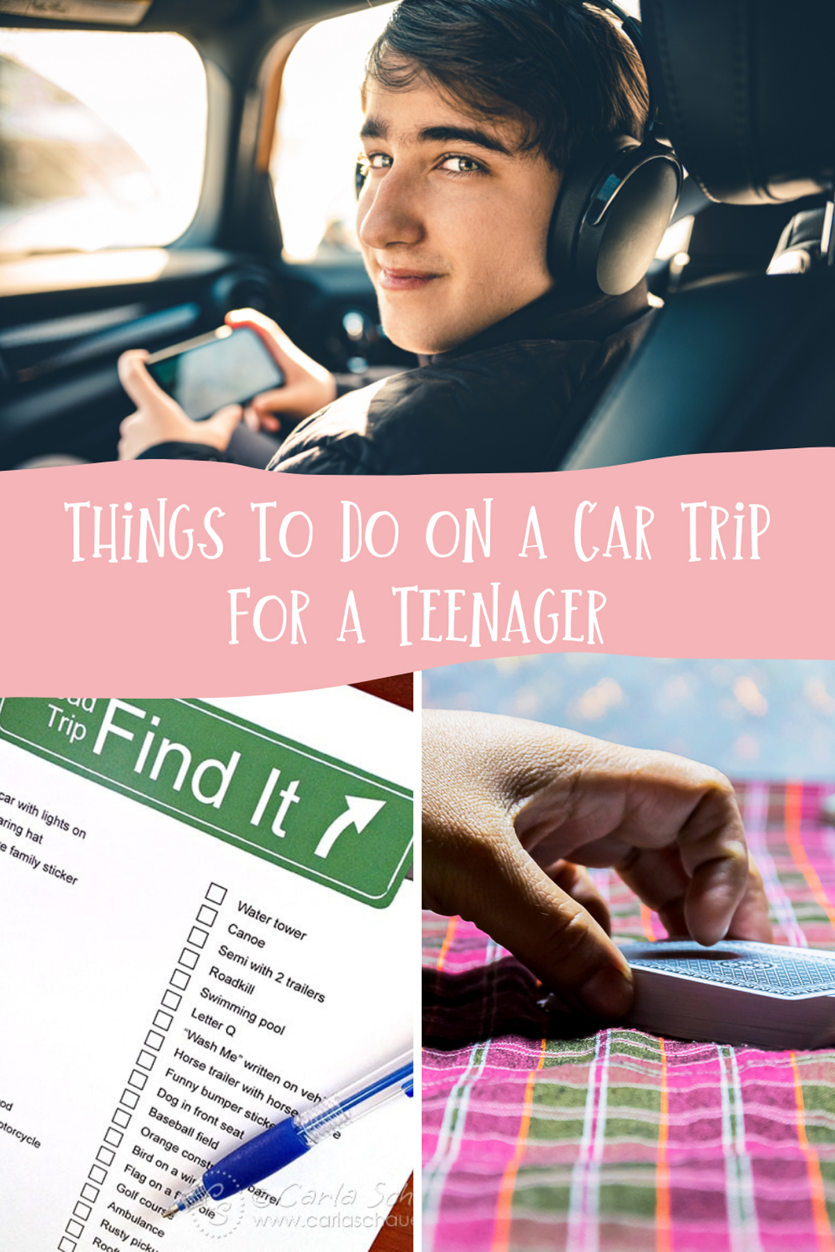 Things to do on a car trip for teens