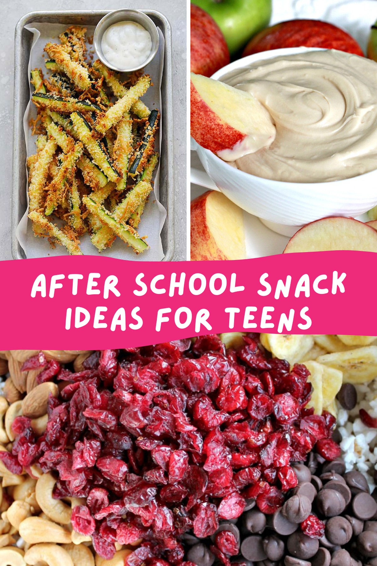 After School Snack Ideas for Teens