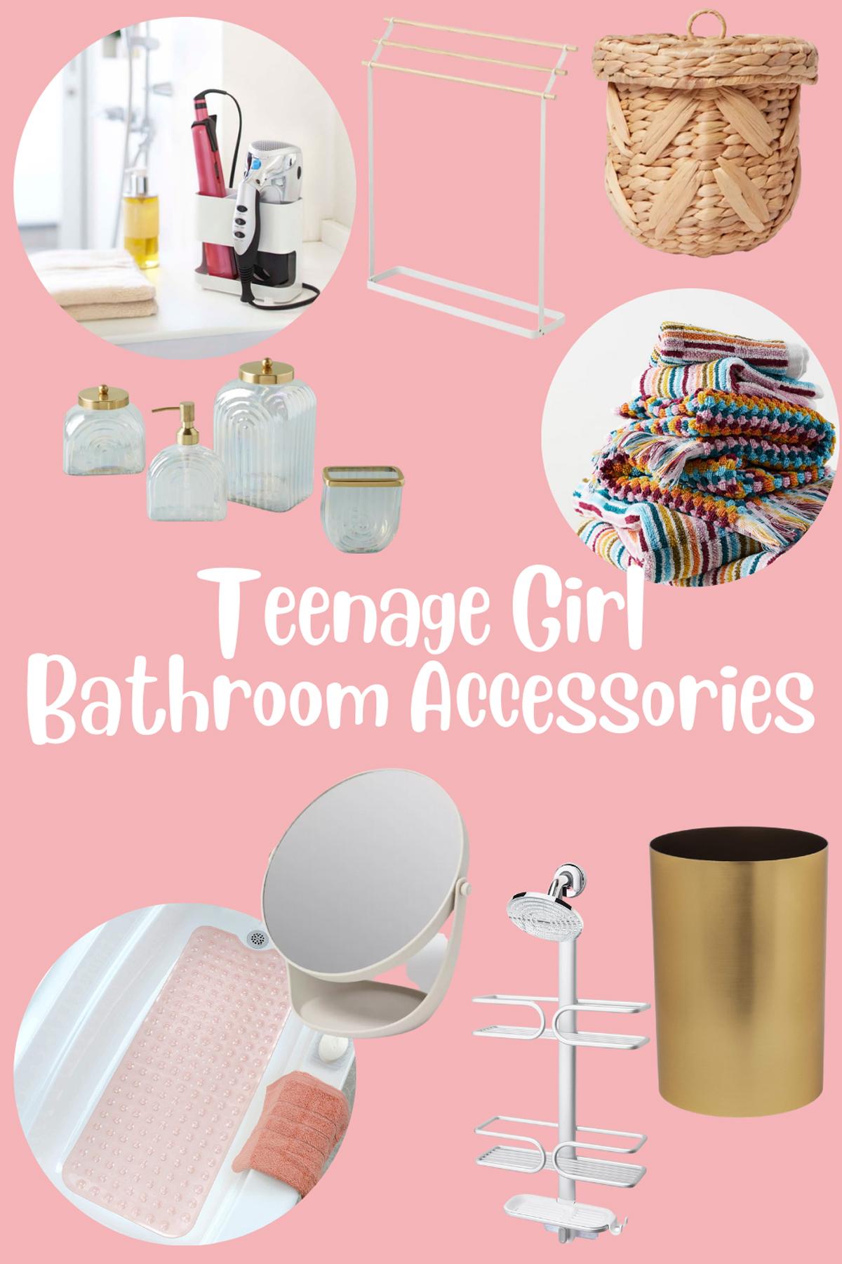 Bathroom Accessories for Teens & Tweens