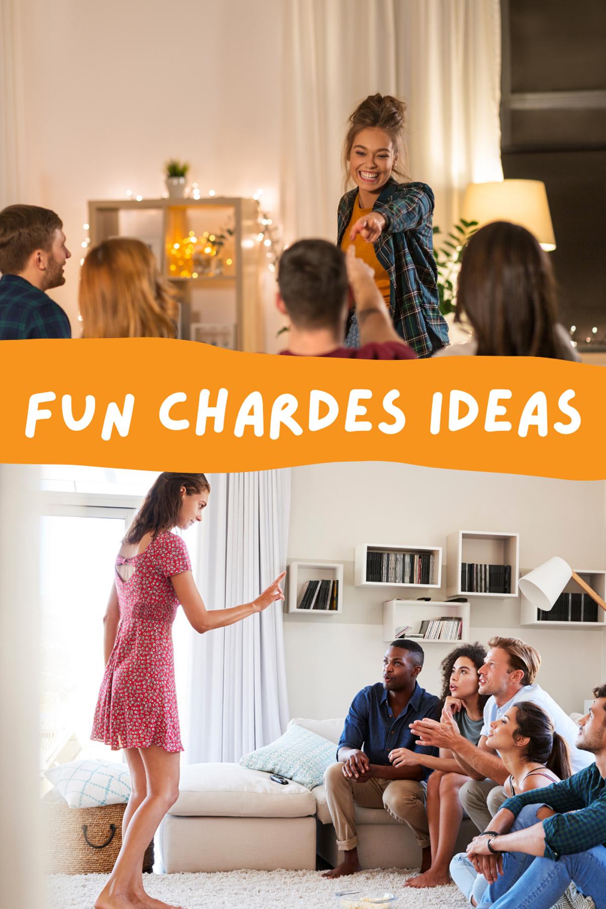 Good Charade Words for Tweens & Teens List