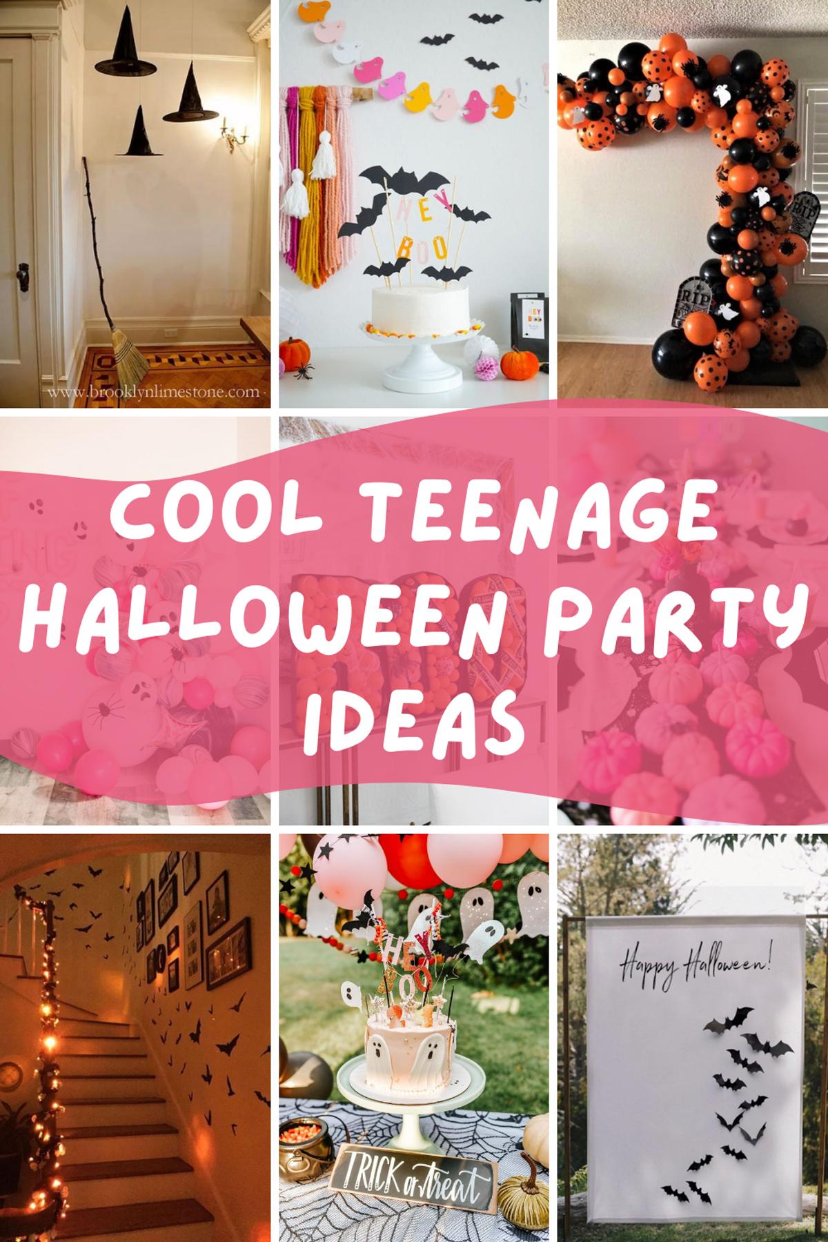 Cool Teenage Halloween Party Ideas