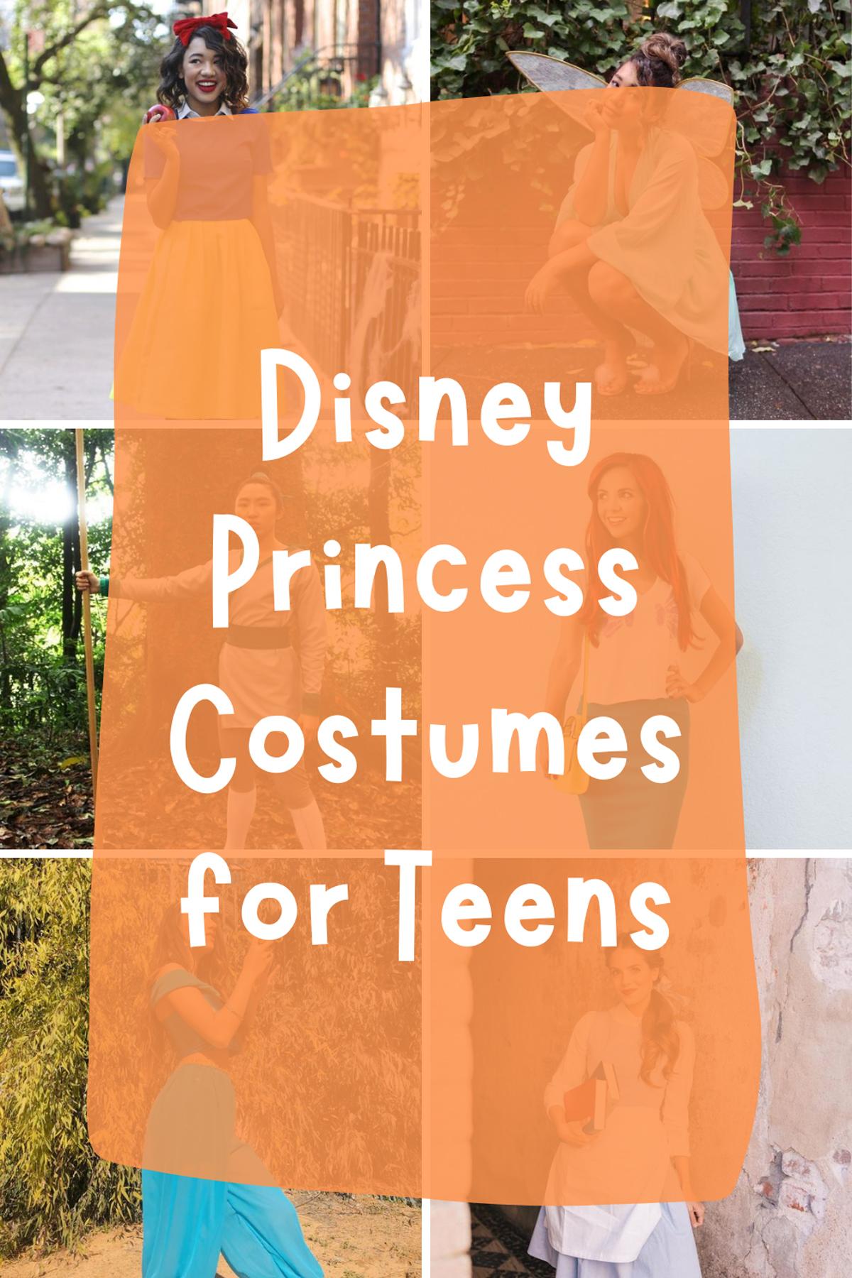 Disney Princess Costumes for Teens