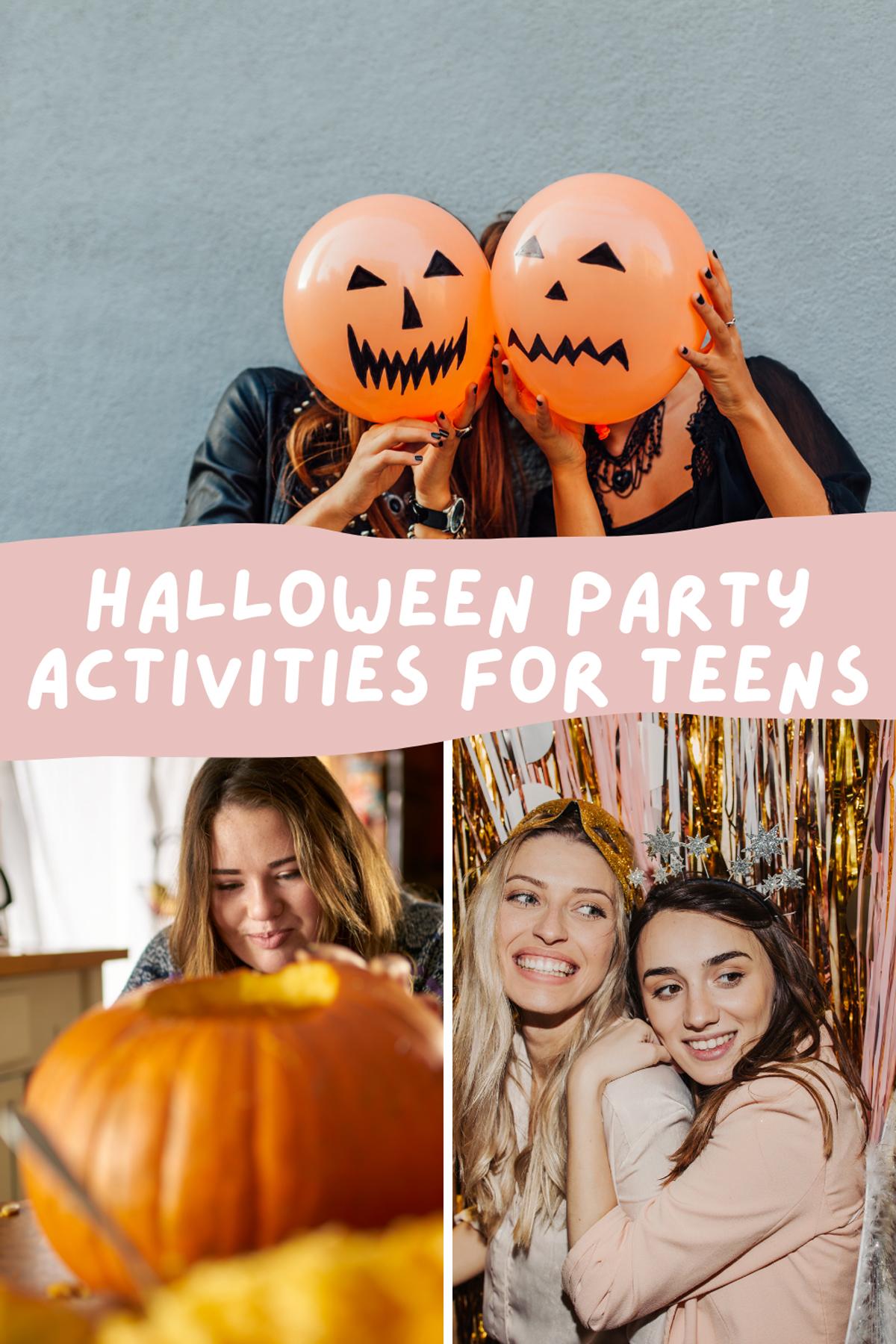 Halloween Party Activities for Teens