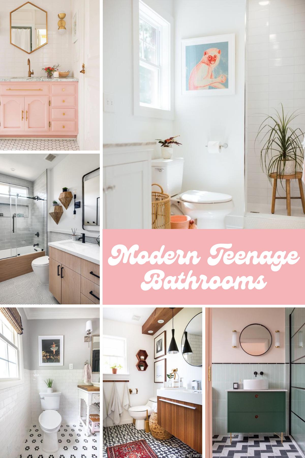 Modern Teenage Bathroom