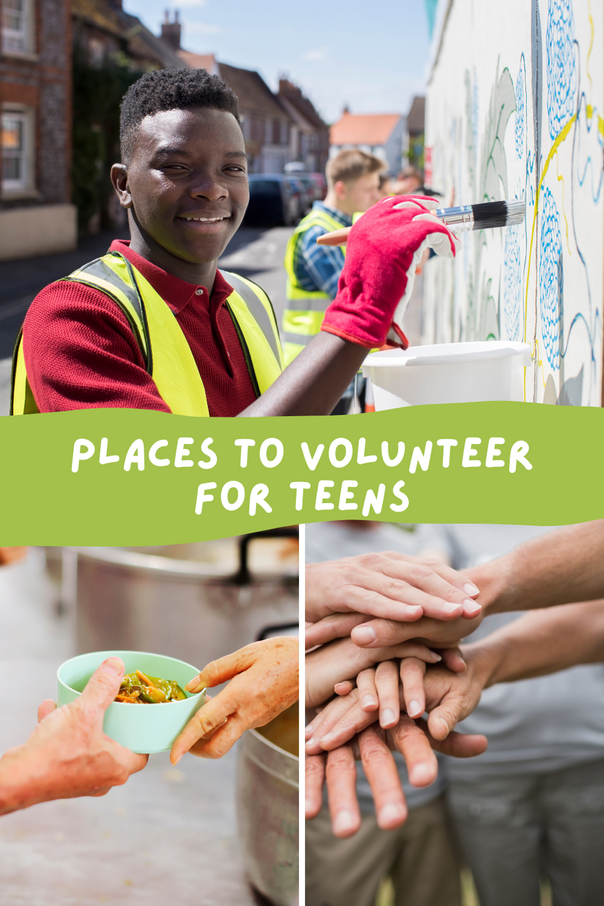 Places to Volunteer as a Teen
