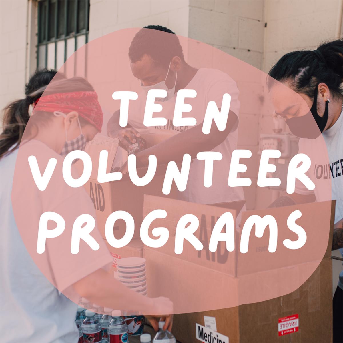 Teen Volunteer Programs