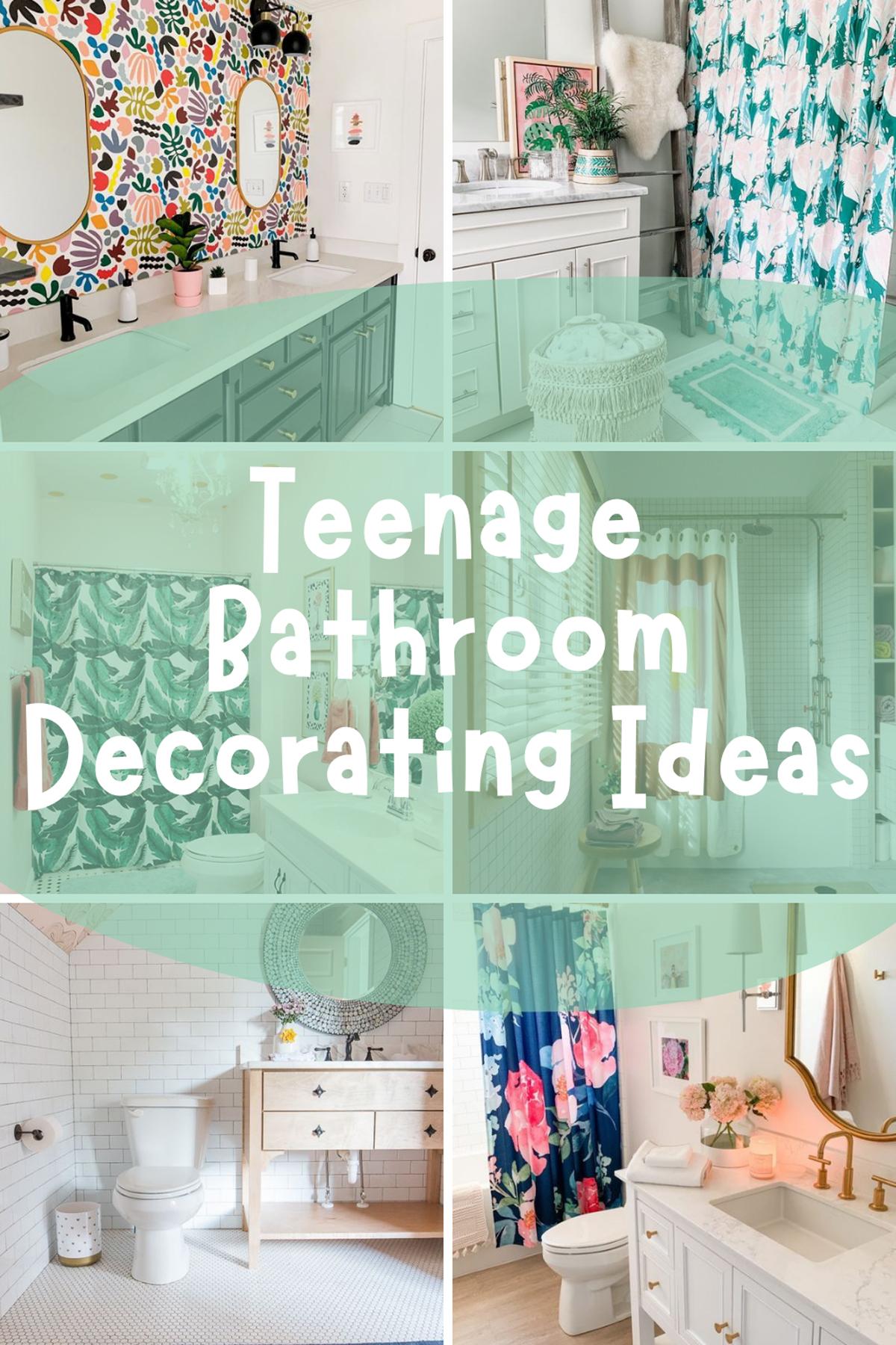 Teenage Bathroom Decorating Ideas