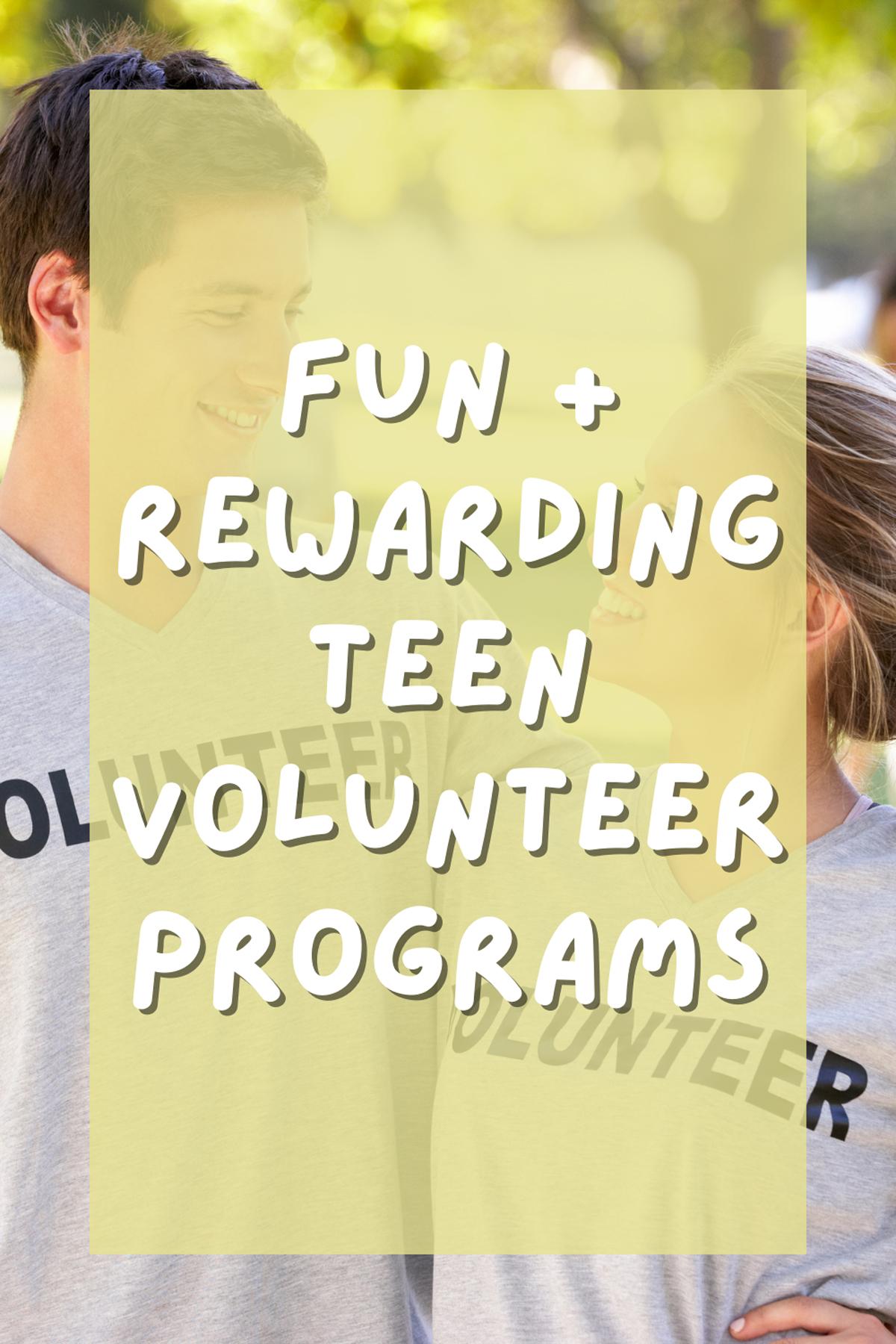 Volunteering For Teens