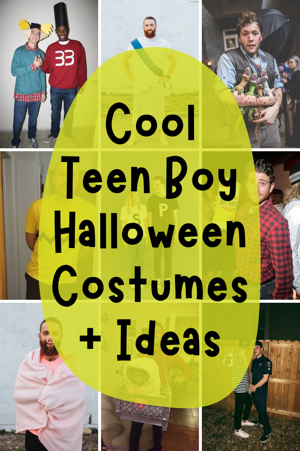 Cleaver Halloween Costumes for Teens