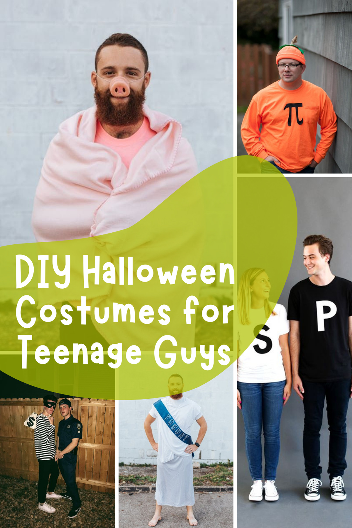 DIY Ideas For Funny Guys Costumes