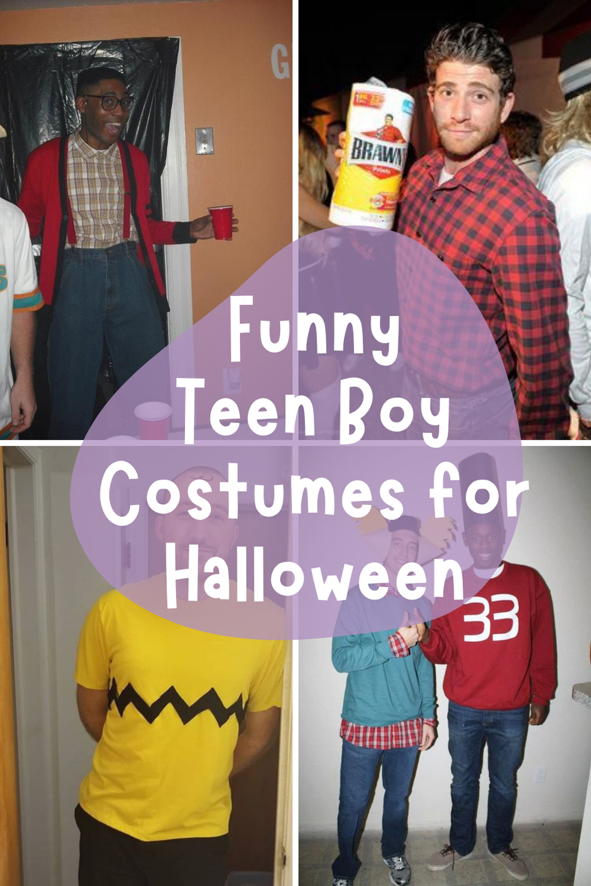 Funny Teen Boy Costumes for Halloween