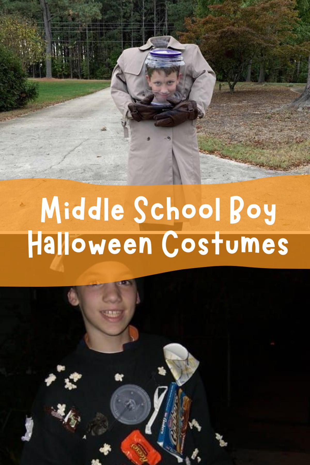 Middle School Boy Halloween Costumes