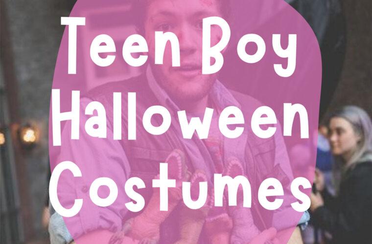 Teen Boy Halloween Costumes