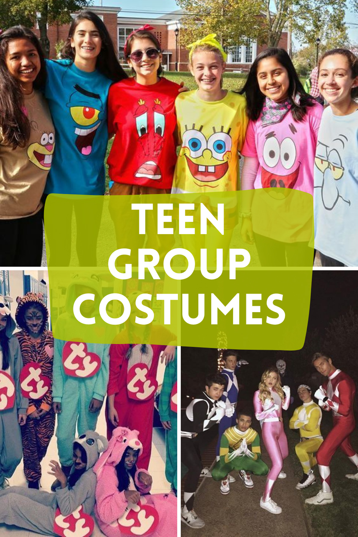 Teen Costumes For Friends