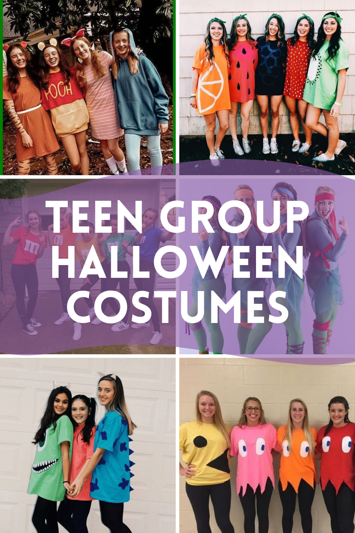 Teen Group Costumes