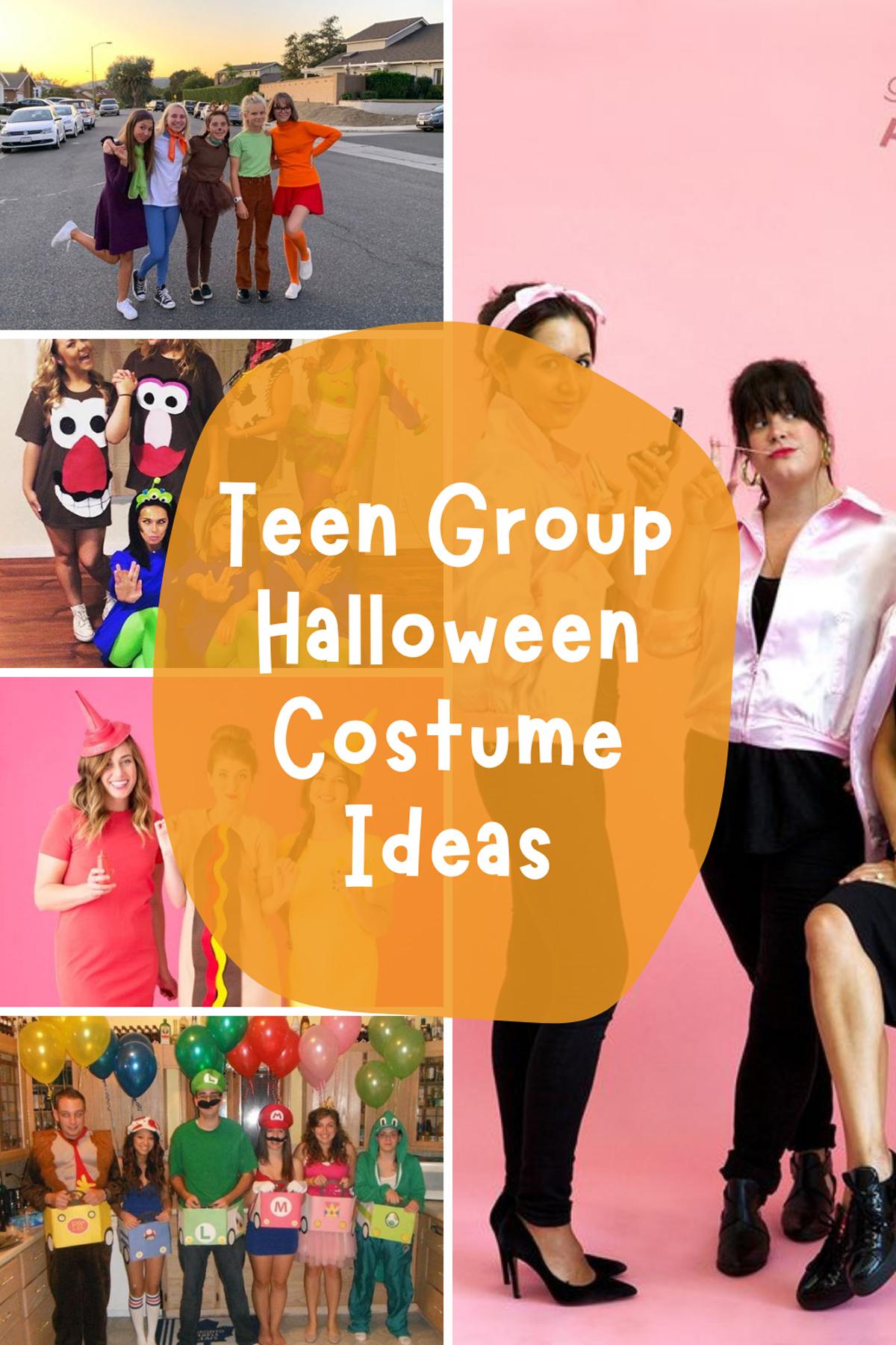 Teen Group Halloween Costume Ideas
