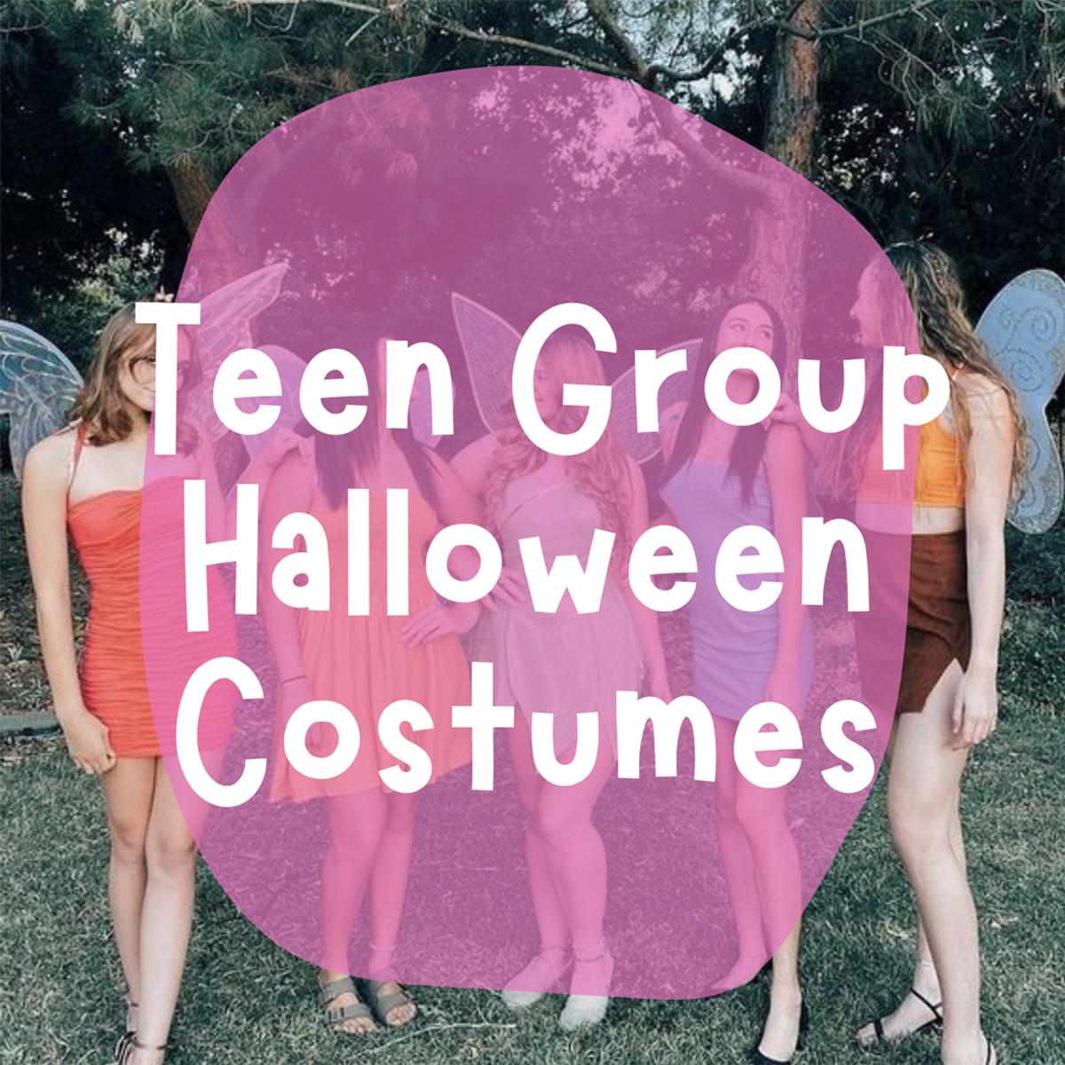 Teen Group Halloween Costumes